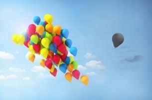 Bryt ned en fordom hver eneste dag - ballonger