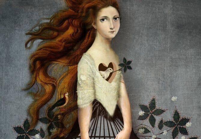 Due i kvinnes hjerte
