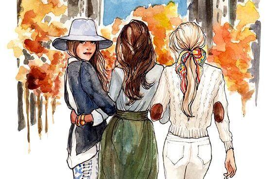 Søstre er forente i hjertet