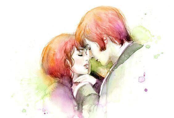 par som skal til a kysse