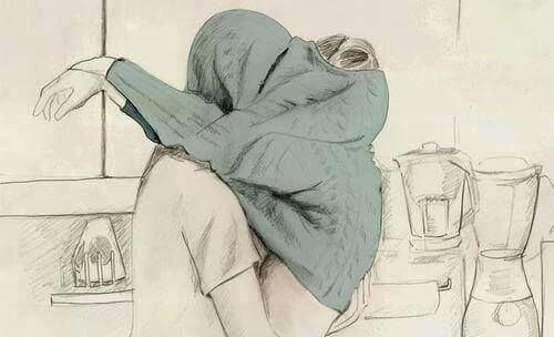 par kysser under genser