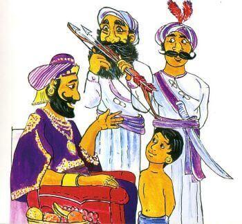 tegning av Siddhartha