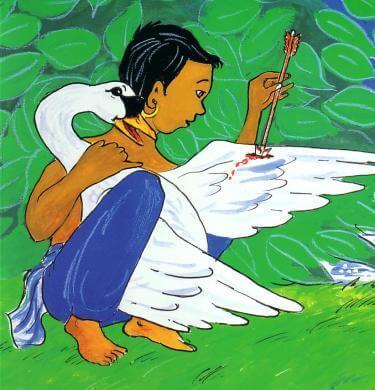 Siddhartha og svanen