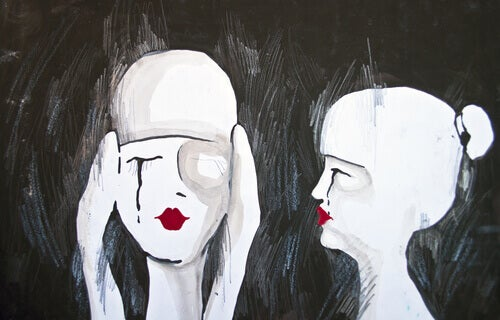 To triste kvinner