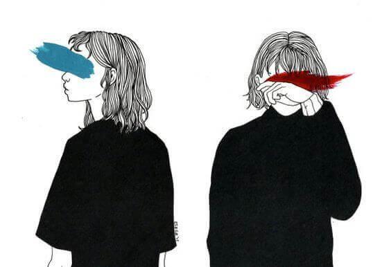 Farger blokkerer kvinnes øyne