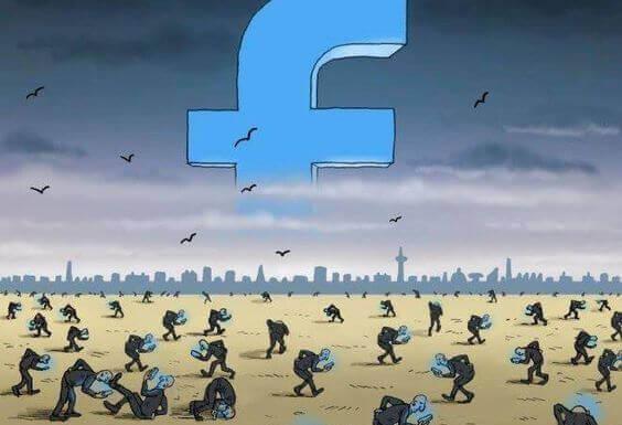 Slaver av Facebook