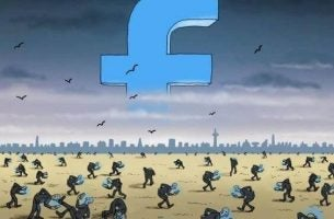 Jeg liker sosiale nettverk, ikke falske virtuelle liv