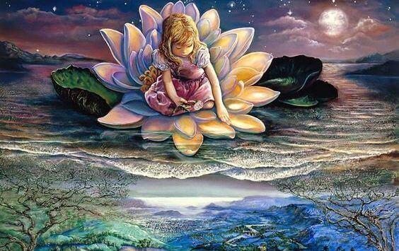 Jente i Lotus