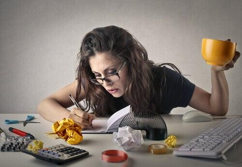 Produktiv kvinne