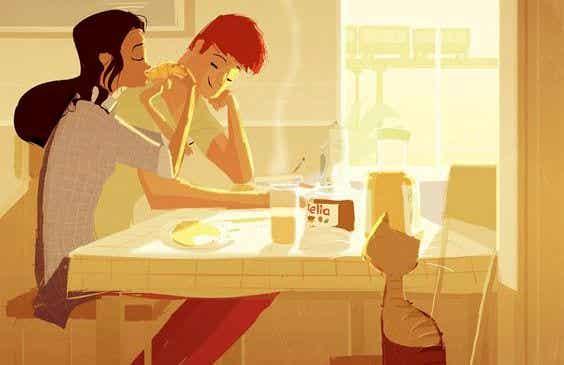 """Partneren min """"hjelper meg"""" ikke hjemme: vi samarbeider"""