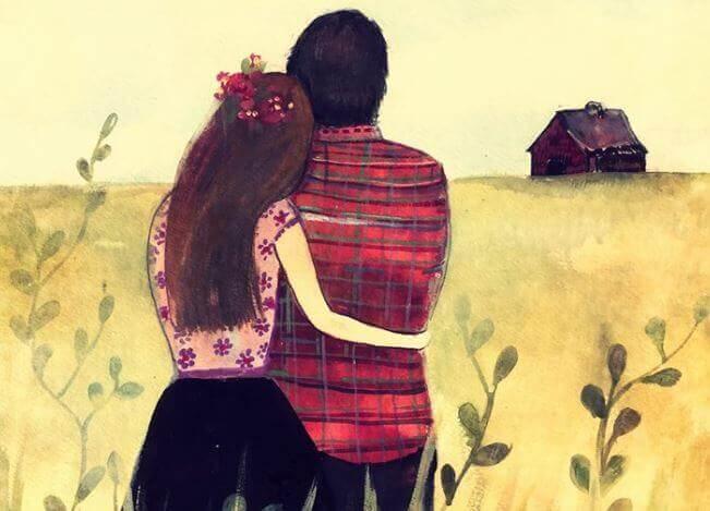Par i åker
