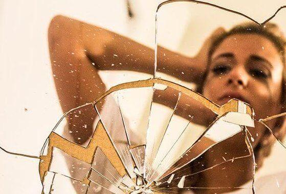 Ødelagt speil