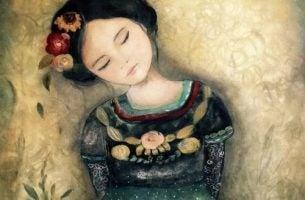 Skuffelse kan være nyttig - Jente med blomster