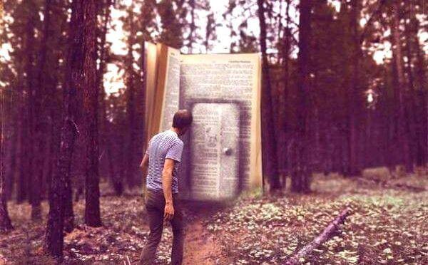 bok med dør