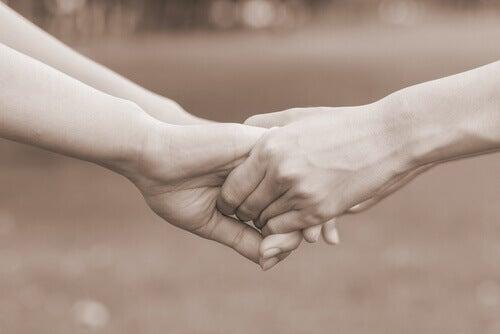 elsk meg vel hender