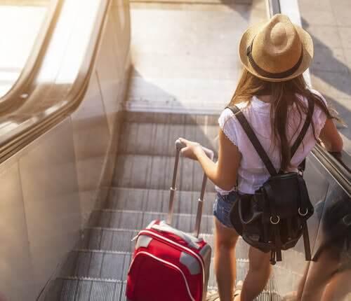 Jente på reise