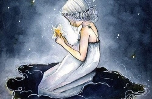 Jente med stjerne