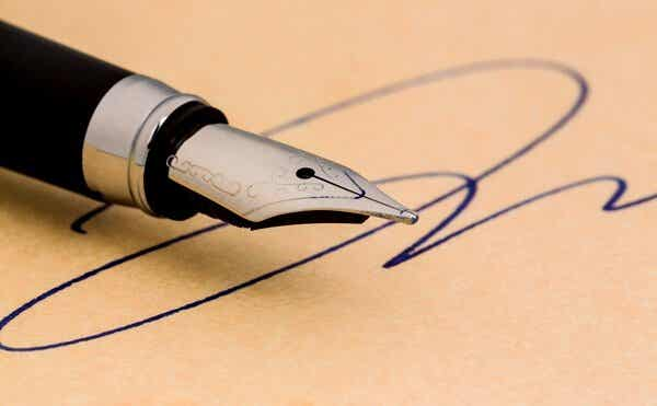 Hva signaturen din sier om deg
