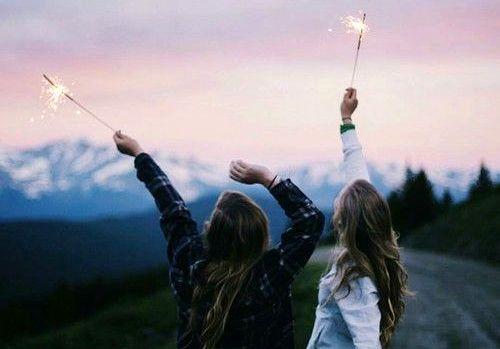 Venner med stjerneskudd