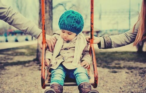 Opplevelsen til barn med skilte foreldre