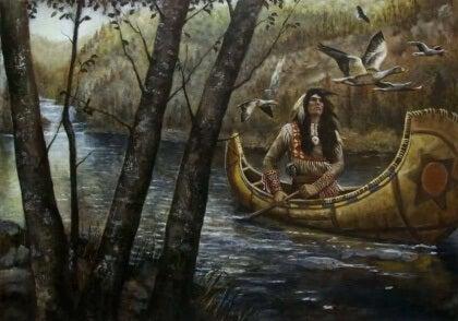 Sammen, men ikke bundet: en Sioux-legende om forhold