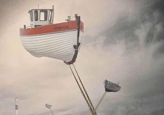 Båter i luften