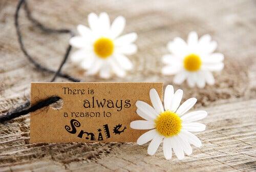 Det er alltid en grunn til å smile