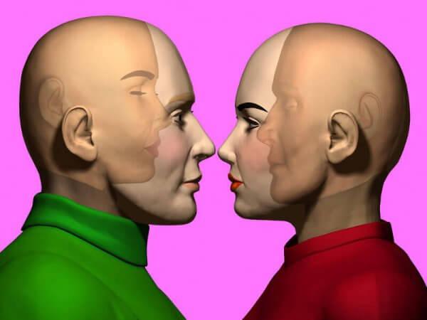 To personer med empati