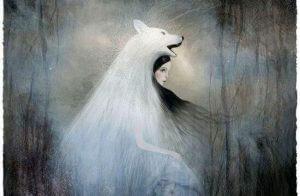 Kvinne utkledd som en ulv for å ligne sin overgriper