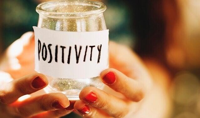 Krukke med positivitet
