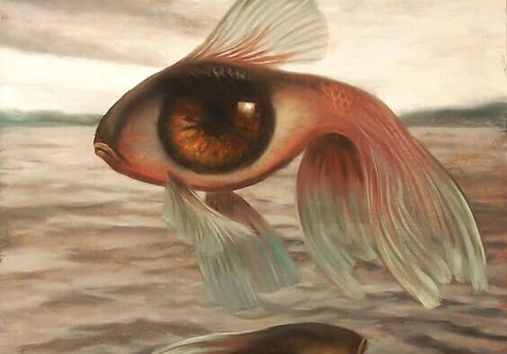 Fisk med et stort øye