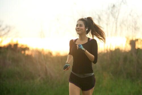 Løping er en utmerket form for meditasjon