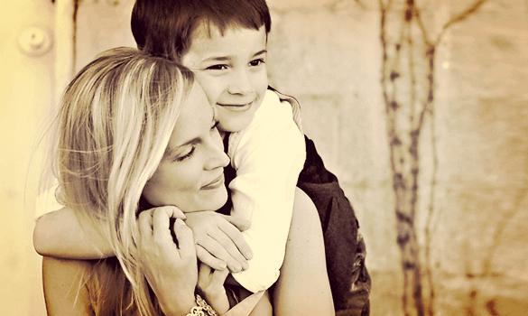 Sønnen min er også følsom, hengiven, omsorgsfull...