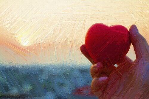 Hjerte i hånden: dine triste dager
