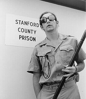 En vakt i Stanford Prison Experiment
