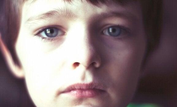Trist gutt - Gutter kan også være førsomme