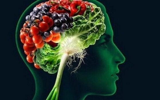 Grønnsaker i hjerne