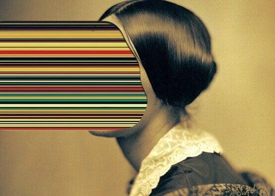 Abstrakt kvinne