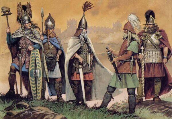 Keltiske krigere
