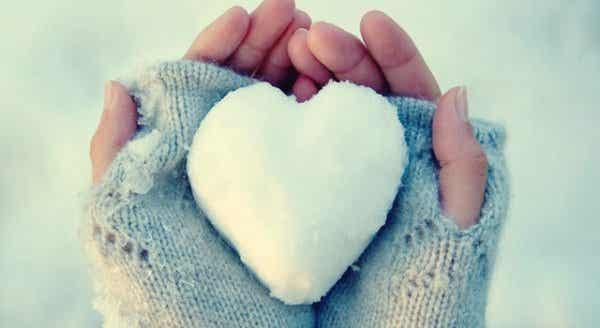 Hjerter av is: Personer som sliter med å uttrykke følelsene sine