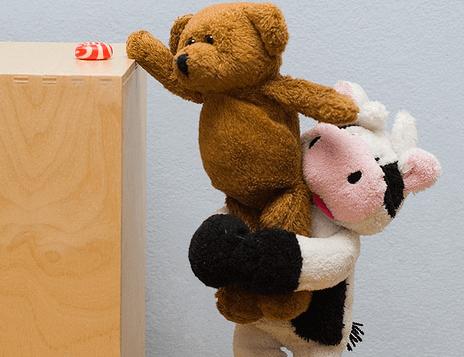 Kosedyr hjelper hverandre