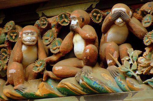 De tre vise aper