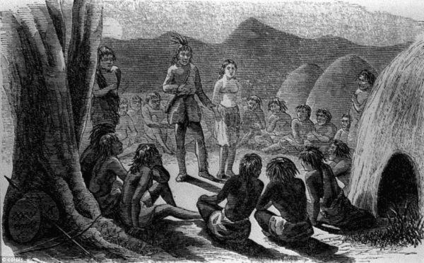 Olive Oatman med indianerne