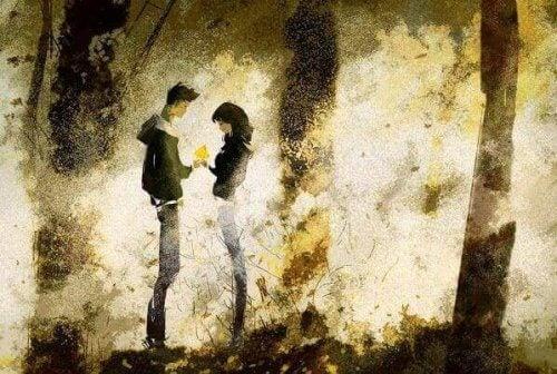 Par i skogen