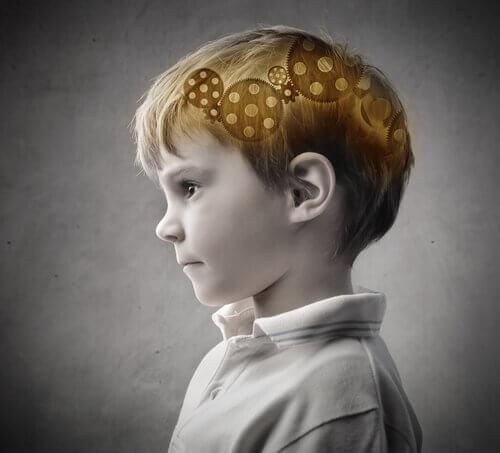 Det indre arbeidet til et barns hjerne.