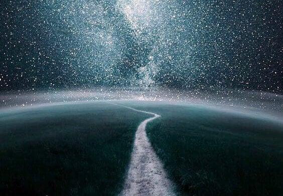 Min historie: En sti gjennom en stjerneklar himmel.