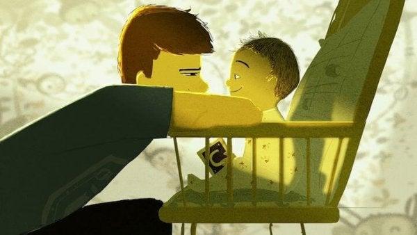 familieforhold - far og barn