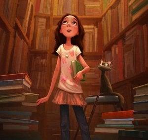 Det å være omringet av ekte bøker er befriende