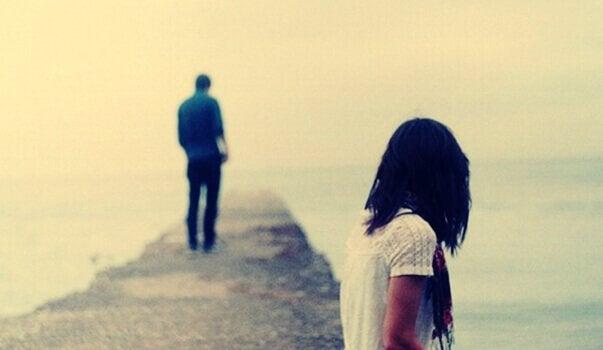 Gutt går bort fra partneren sin - jeg elsker deg ikke lenger