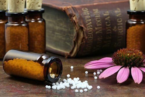 Homøopati, en av pseudovitenskapene.